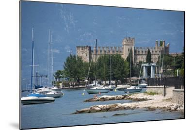 The Castle at Torre Del Benaco, Lake Garda, Italian Lakes, Veneto, Italy, Europe-James Emmerson-Mounted Photographic Print