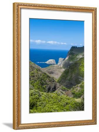 The Rugged West Maui Landscape and Coastline, Maui, Hawaii, United States of America, Pacific-Michael Runkel-Framed Photographic Print