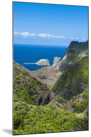 The Rugged West Maui Landscape and Coastline, Maui, Hawaii, United States of America, Pacific-Michael Runkel-Mounted Photographic Print