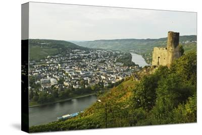 View of Landshut Castle Ruins-Jochen Schlenker-Stretched Canvas Print