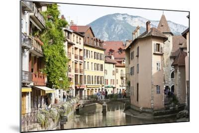 A View of the Old Town of Annecy, Haute-Savoie, France, Europe-Graham Lawrence-Mounted Photographic Print
