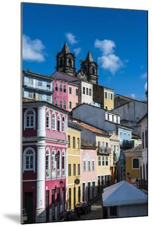Colonial Architecture in the Pelourinho-Michael Runkel-Mounted Photographic Print