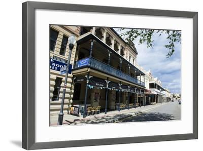 Colonial Buildings in Downtown Fremantle, Western Australia, Australia, Pacific-Michael Runkel-Framed Photographic Print