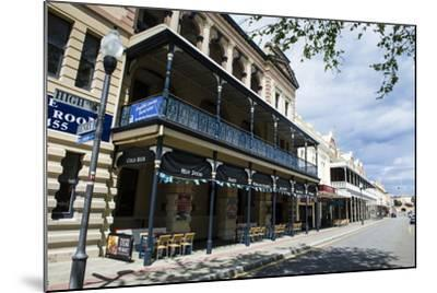 Colonial Buildings in Downtown Fremantle, Western Australia, Australia, Pacific-Michael Runkel-Mounted Photographic Print