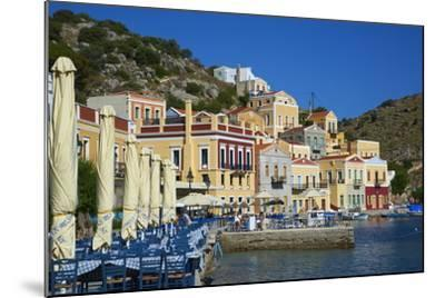 Gialos Harbour, Symi, Dodecanese, Greek Islands, Greece, Europe--Mounted Photographic Print