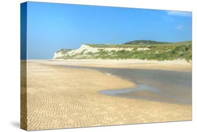 Wissant Beach Near Cap Blanc-Nez, Cote D'Opale, Region Nord-Pas De Calais, France, Europe-Gabrielle and Michel Therin-Weise-Stretched Canvas Print