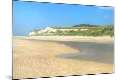 Wissant Beach Near Cap Blanc-Nez, Cote D'Opale, Region Nord-Pas De Calais, France, Europe-Gabrielle and Michel Therin-Weise-Mounted Photographic Print