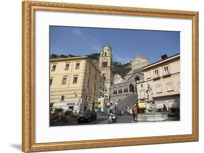 The Duomo Cattedrale Sant' Andrea in Amalfi-Martin Child-Framed Photographic Print