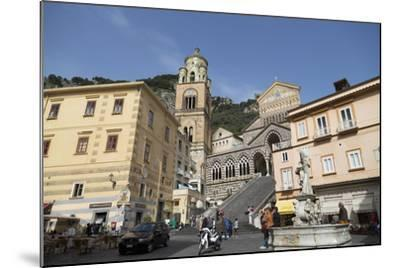 The Duomo Cattedrale Sant' Andrea in Amalfi-Martin Child-Mounted Photographic Print