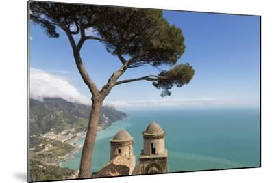 The Twin Domes of San Pantaleone Church from Villa Rofolo in Ravello-Martin Child-Mounted Photographic Print