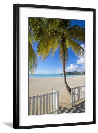 Beach, Jolly Harbour, St. Mary, Antigua, Leeward Islands, West Indies, Caribbean, Central America-Frank Fell-Framed Photographic Print
