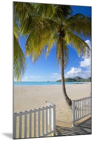 Beach, Jolly Harbour, St. Mary, Antigua, Leeward Islands, West Indies, Caribbean, Central America-Frank Fell-Mounted Photographic Print