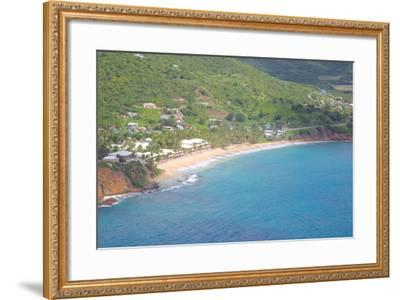 View of Carlisle Bay, Antigua, Leeward Islands, West Indies, Caribbean, Central America-Frank Fell-Framed Photographic Print