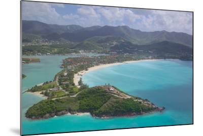 View over Jolly Harbour, Antigua, Leeward Islands, West Indies, Caribbean, Central America-Frank Fell-Mounted Photographic Print