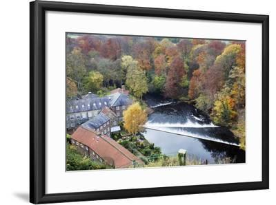 Castle Mills and the Weir-Mark Sunderland-Framed Photographic Print