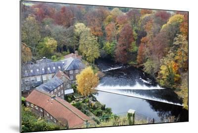 Castle Mills and the Weir-Mark Sunderland-Mounted Photographic Print