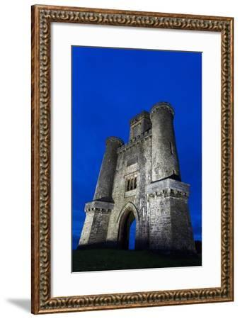 Paxtons Tower, Llanarthne, Carmarthenshire, Wales, United Kingdom, Europe-Billy Stock-Framed Photographic Print