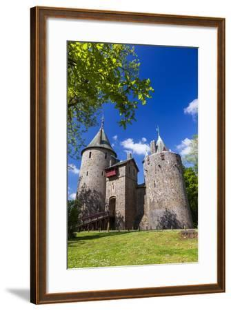 Castell Coch (Castle Coch) (The Red Castle), Tongwynlais, Cardiff, Wales, United Kingdom, Europe-Billy Stock-Framed Photographic Print