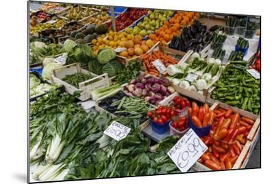 Fruits and Vegetables at Papiniano Market, Milan, Lombardy, Italy, Europe-Yadid Levy-Mounted Photographic Print