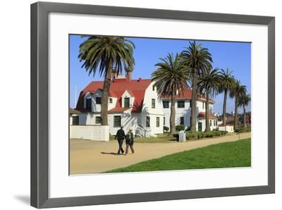 Life Saving Station in Crissy Field-Richard Cummins-Framed Photographic Print