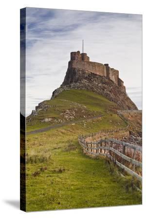 Lindisfarne Castle on Holy Island, Northumberland, England, United Kingdom, Europe-Julian Elliott-Stretched Canvas Print