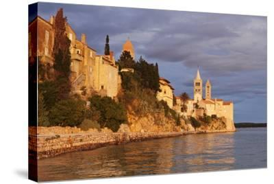 Old Town of Rab Town-Markus Lange-Stretched Canvas Print