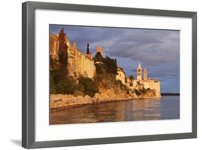 Old Town of Rab Town-Markus Lange-Framed Photographic Print