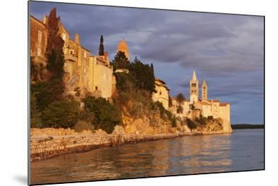 Old Town of Rab Town-Markus Lange-Mounted Photographic Print