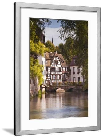 Half Timbered Houses in La Petite France-Julian Elliott-Framed Photographic Print