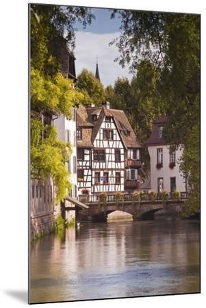 Half Timbered Houses in La Petite France-Julian Elliott-Mounted Photographic Print