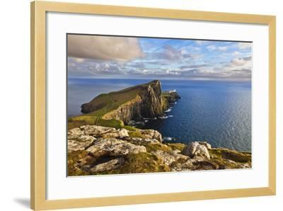 Neist Point and Lighthouse-Neale Clark-Framed Photographic Print