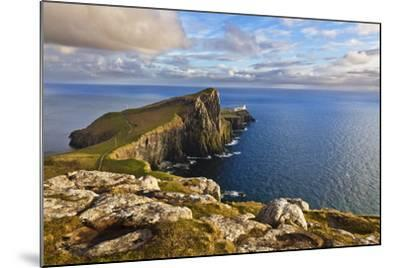 Neist Point and Lighthouse-Neale Clark-Mounted Photographic Print