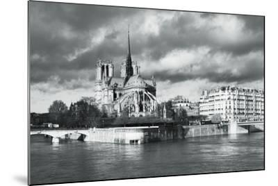 Notre Dame Cathedral on the River Seine, Paris, Ile De France, France, Europe-Markus Lange-Mounted Photographic Print