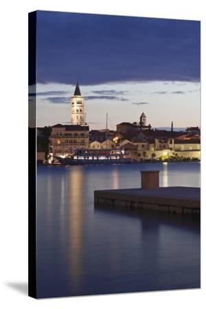 Old Town of Rab at Dusk-Markus Lange-Stretched Canvas Print