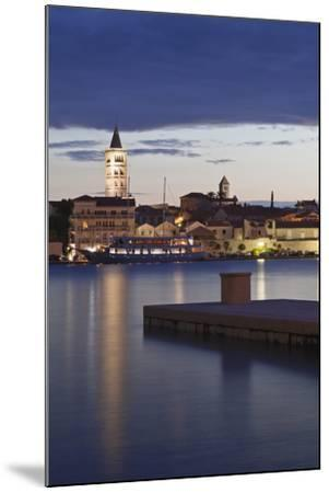 Old Town of Rab at Dusk-Markus Lange-Mounted Photographic Print