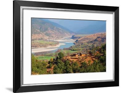 Yangtze River, Yunnan, China, Asia-Bruno Morandi-Framed Photographic Print