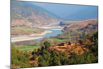 Yangtze River, Yunnan, China, Asia-Bruno Morandi-Mounted Photographic Print