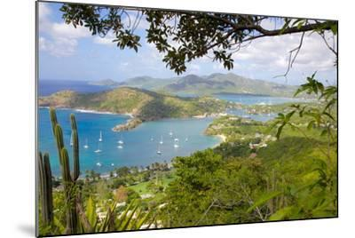 View of English Harbour from Shirley Heights-Frank Fell-Mounted Photographic Print