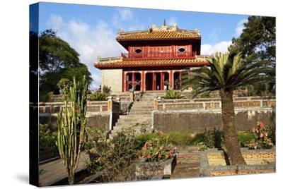 Minh Mang Tomb, UNESCO World Heritage Site, Hue, Vietnam, Indochina, Southeast Asia, Asia-Bruno Morandi-Stretched Canvas Print