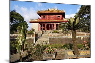 Minh Mang Tomb, UNESCO World Heritage Site, Hue, Vietnam, Indochina, Southeast Asia, Asia-Bruno Morandi-Mounted Photographic Print