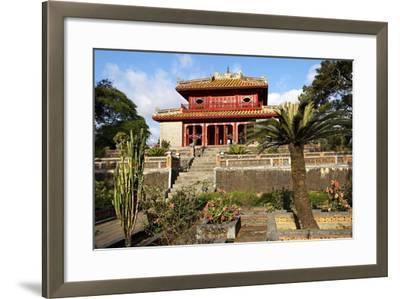 Minh Mang Tomb, UNESCO World Heritage Site, Hue, Vietnam, Indochina, Southeast Asia, Asia-Bruno Morandi-Framed Photographic Print