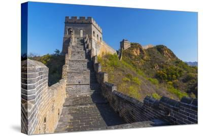 Great Wall of China-Alan Copson-Stretched Canvas Print