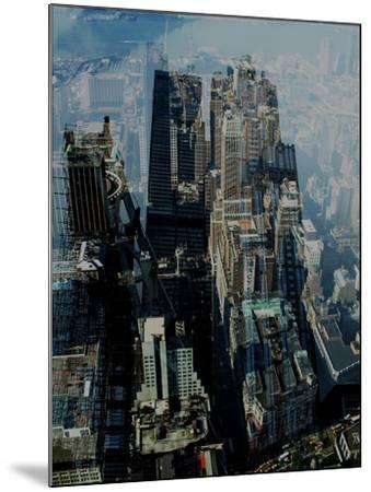 Metropolis VII-David Studwell-Mounted Giclee Print