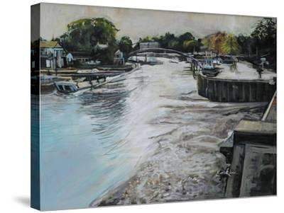 Eel Pie Island-John Erskine-Stretched Canvas Print