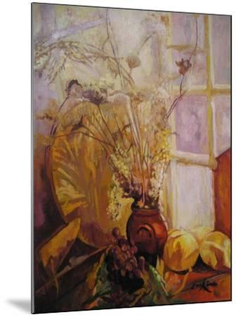 Spray in a Vase, Tuscany Window-John Erskine-Mounted Giclee Print