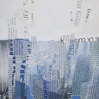 Falaise (Cliff)-Jeremy Annett-Framed Giclee Print
