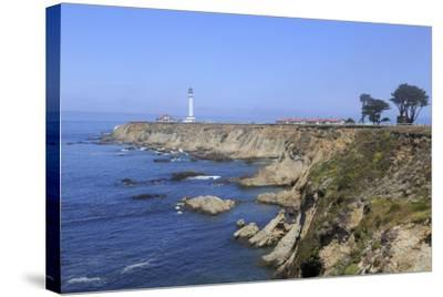 Point Arena Lighthouse, Mendocino County, California, United States of America, North America-Richard Cummins-Stretched Canvas Print
