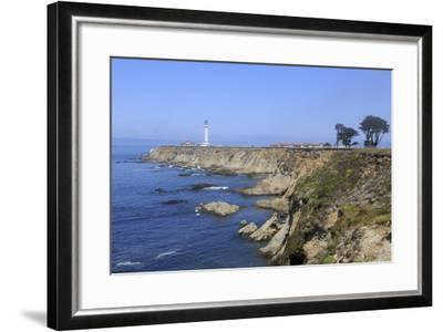 Point Arena Lighthouse, Mendocino County, California, United States of America, North America-Richard Cummins-Framed Photographic Print