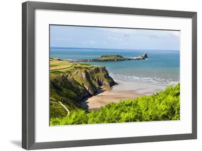 Rhossili Bay, Gower Peninsula, Wales, United Kingdom, Europe-Billy Stock-Framed Photographic Print