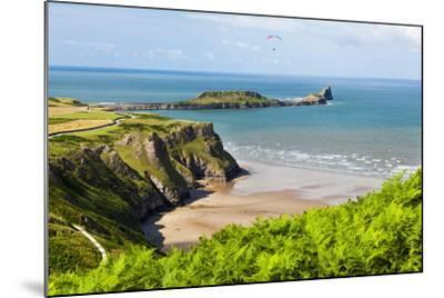 Rhossili Bay, Gower Peninsula, Wales, United Kingdom, Europe-Billy Stock-Mounted Photographic Print